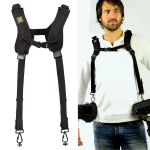 AvidMax Outfitters BlackRapid Double Slim DSLR Dual Camera Sling Strap - DR-2