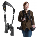 AvidMax Outfitters BlackRapid Binoc Strap Adaptor and Neck Strap