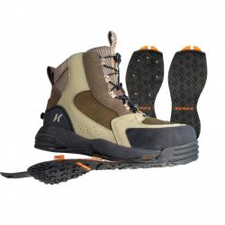 Korkers Redside Studded w/both Kling-On and Studded Kling-On Outsoles Wading Boot