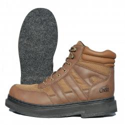Chota Abrams Creek Fly Fishing Wading Boots w/ Felt Sole Leather - 14