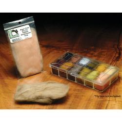 Hareline Super Fine Dry Fly Dubbing Amber