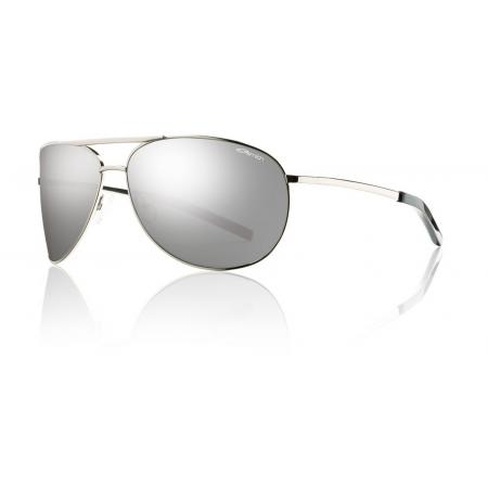 8b8dcd551d Smith Optics Serpico Sunglasses Silver Polarized Platinum   Smith ...