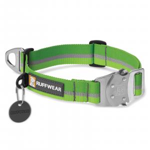 Ruffwear Top Rope Dog Collar Meadow Green Medium