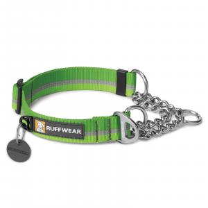 Ruffwear Chain Reaction Dog Collar Meadow Green Medium