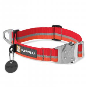 Ruffwear Top Rope Dog Collar Kokanee Red Medium