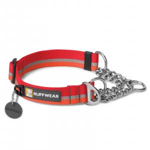 Ruffwear Chain Reaction Dog Collar Kokanee Red Medium