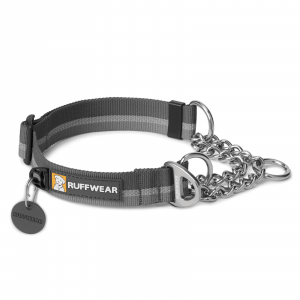 Ruffwear Chain Reaction Dog Collar Twilight Gray Medium