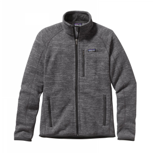 Patagonia Men's Better Sweater Jacket Nickel w/Forge Grey Small