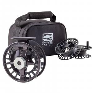 Waterworks Lamson Remix Fly Reel 3-Pack 4 Black 9-10 wt (Model 4)