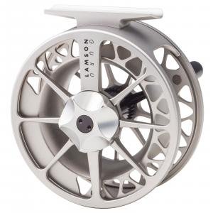 Waterworks Lamson Guru Series II Fly Reel 3.5 Silver
