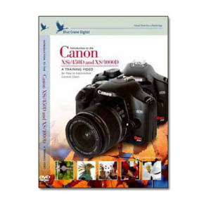 Canon DVD EOS Digital Rebel Xsi / 450D Camera Training Video Guide by Blue Crane Digital