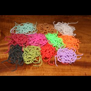 Caster's Squirmito - The Original Squiggly Worm Material Fl Orange