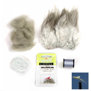 AvidMax Sparkle Wing RS2 Fly Tying Pattern Materials Kit Standard