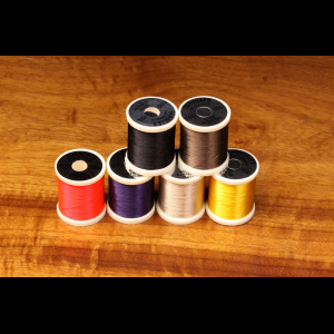 Danville's 140 Denier Waxed Flymaster Plus Fly Tying Thread Grey