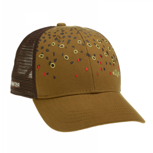 RepYourWater Brown Trout Skin Mesh Back Hat