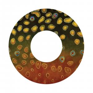 Redington i.D 7/8/9 WT Fly Reel Decal Brookie Skin – Udesen