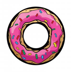 Redington i.D 5/6 WT Fly Reel Decal Donut