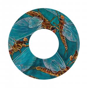 Redington i.D 3/4 WT Fly Reel Decal Mayflies – Udesen