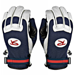 Rossignol Throwback Glove Medium White/Navy