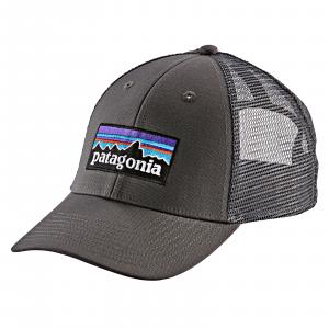 Patagonia P-6 Logo LoPro Trucker Hat Forge Grey w/Forge Grey