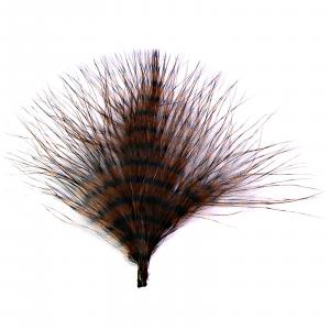 MFC Mini Barred Marabou Brown/Black