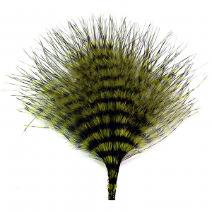 MFC Mini Barred Marabou Olive/Black