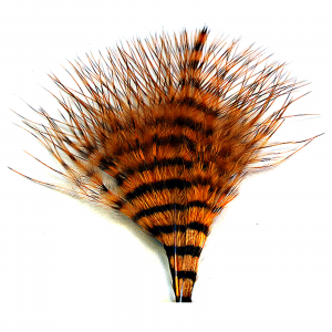 MFC Mini Barred Marabou Orange/Brown