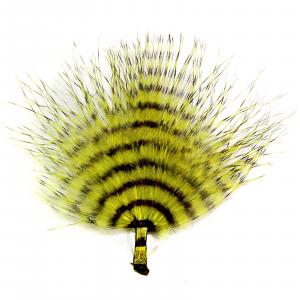 MFC Mini Barred Marabou Yellow/Black