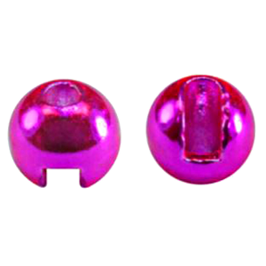 "MFC Tungsten Lucent Jig Beads Hot Pink 1/8"" (3.3 mm)"