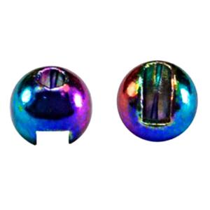 "MFC Tungsten Lucent Jig Beads Rainbow 7/64"" (2.8 mm)"