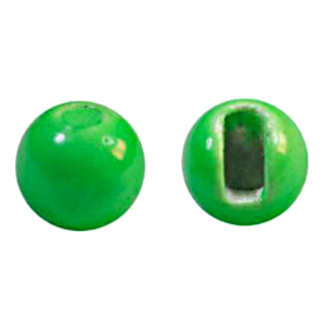 """MFC Tungsten Jig Beads Chartreuse 7/64"""" (2.8 mm)"""