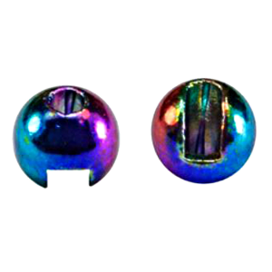 "MFC Tungsten Lucent Jig Beads Rainbow 1/8"" (3.3 mm)"
