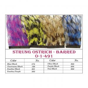 MFC Strung Barred Ostrich Fuschia/Black
