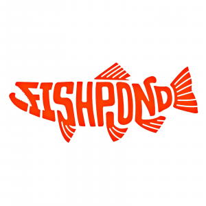Fishpond Thermal Die Cut Sticker Pescado