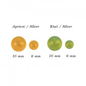 MFC Otter's Soft Milking Eggs Apricot 6 mm