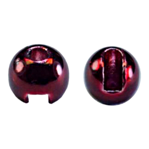 "MFC Tungsten Lucent Jig Beads Blood Red 1/8"" (3.3 mm)"