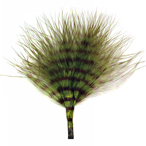 MFC Mini Barred Marabou Olive/Brown