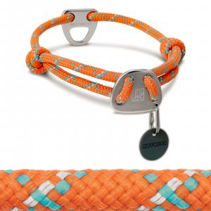 Ruffwear Knot-A-Collar II Dog Collar 14-20 Pumpkin Orange