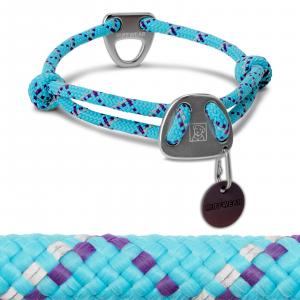 Ruffwear Knot-A-Collar II Dog Collar 14-20 Blue Atoll