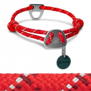 Ruffwear Knot-A-Collar II Dog Collar 14-20 Red Currant