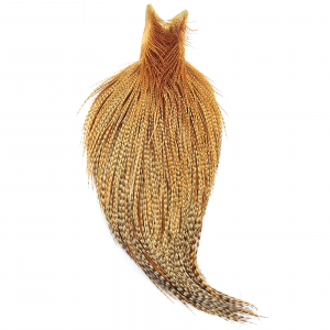 Whiting Farms High & Dry Hackle Cape Barred Dark Ginger