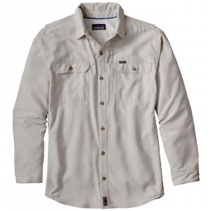 Patagonia Men's Long Sleeve Sol Patrol II Shirt XXL Tailored Grey