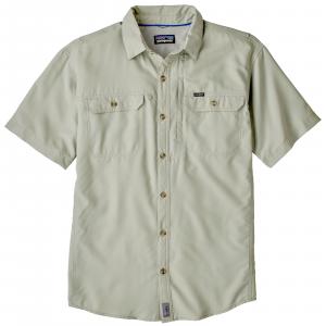 Patagonia Men's Short Sleeve Sol Patrol II Shirt Large Desert Sage