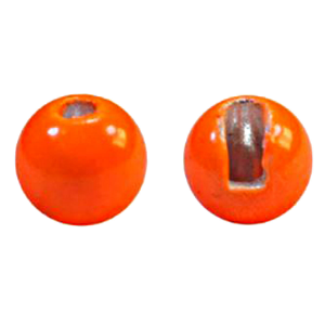 "MFC Tungsten Jig Beads Hot Orange 3/32"" (2.4 mm)"