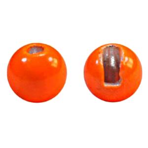 """MFC Tungsten Jig Beads Hot Orange 1/8"""" (3.3 mm)"""