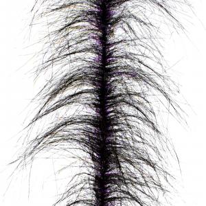 Fair Flies Trout Fly Tying Brushes Crystal Leech - Black