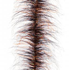 Fair Flies Trout Fly Tying Brushes Big Daddy Brown - Black/Orange