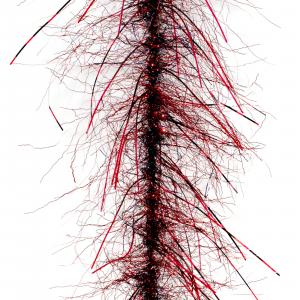 Fair Flies Salt Fly Tying Brushes Mind Bender - Sparse Red/Black