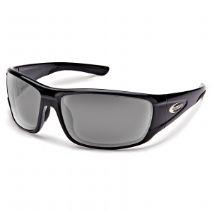 Suncloud Optics Tribute Sunglasses Black Polarized Gray