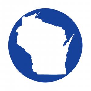 Redington i.D 3/4 wt. Fly Reel Decal Wisconsin